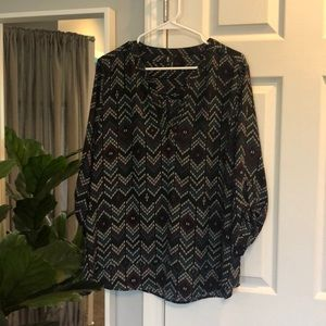 Maurices XL blouse 3/4 sleeve